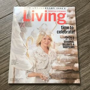Martha Stewart Living 25th Anniversary Magazine